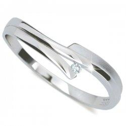 Dámský prsten s diamantem DF2000