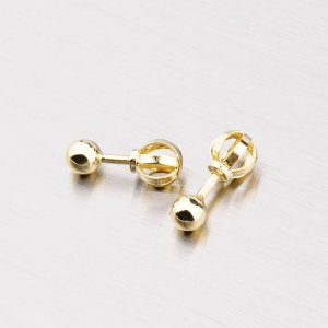 Zlaté pecky na šroubek 353-0031