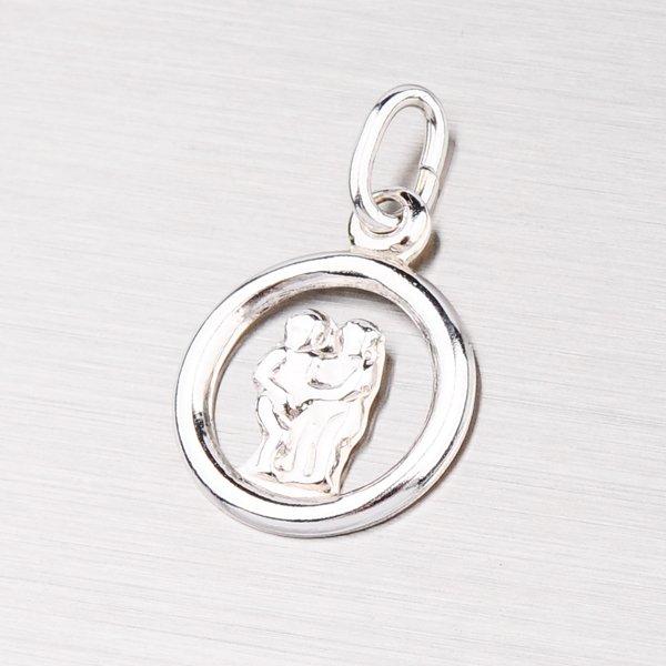 Stříbrný přívěsek - Blíženci M5022-05