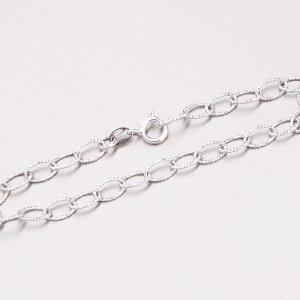 Stříbrný řetízek s gravírováním ODT2-075R-Rh