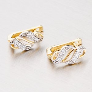 Zlaté náušnice 42-3468