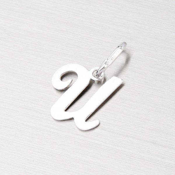Stříbrný přívěsek písmenko - U M5110-U