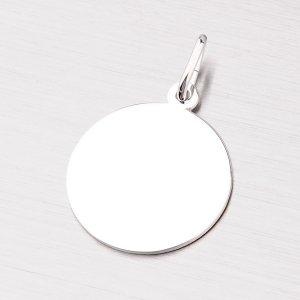 Stříbrný kulatý přívěsek MPN5886A