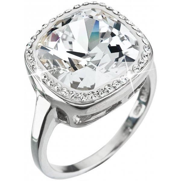 Prsten se Swarovski krystaly 35037.1 KRYSTAL