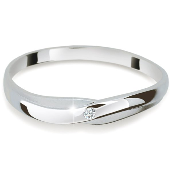 Dámský prsten s diamantem DF2006