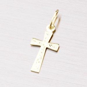 Zlatý křížek s gravírováním 322-0096