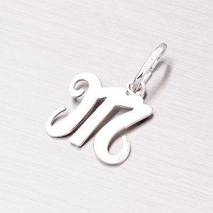 Stříbrný přívěsek písmenko - M M5110-M