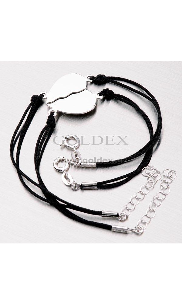 6305eb654 Stříbrný náramek pro pár MBRC5500ARH : Goldex.cz