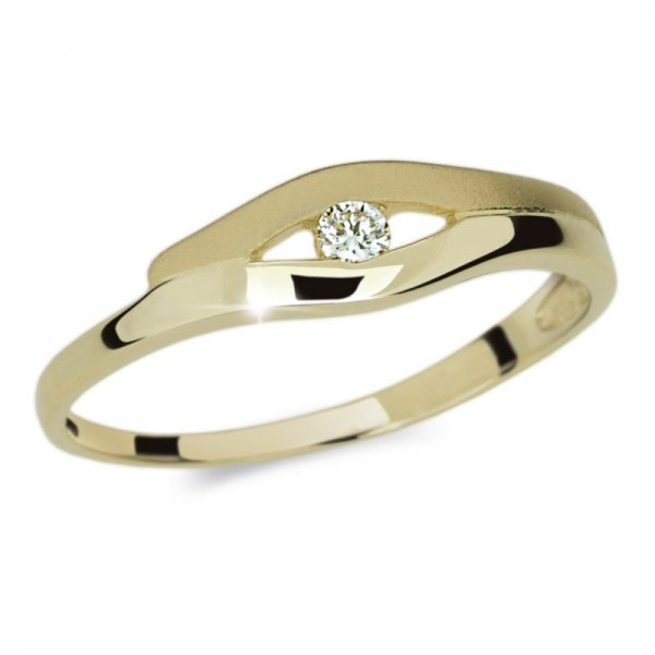 Dámský prsten s diamantem DF1745Z