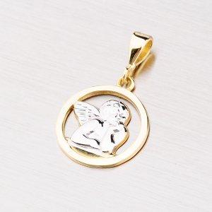 Přívěsek ze zlata s andělíčkem 43-2126