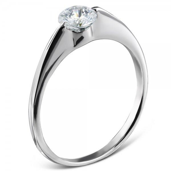 Jemný ocelový prsten GZRC161