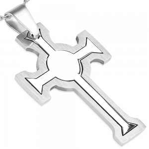 Kříž z chirurgické oceli GPLY605