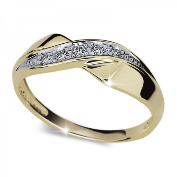 Dámský prsten s diamanty DF1915Z