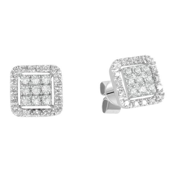 Dámské náušnice s diamanty GKW47462