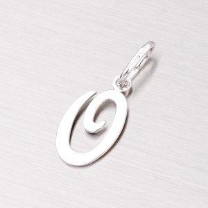 Stříbrný přívěsek písmenko - O M5110-O