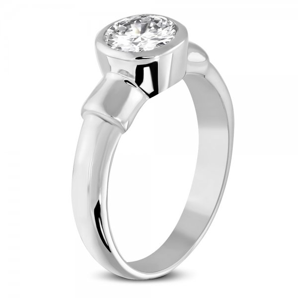 Prsten se zirkonem GZRC074