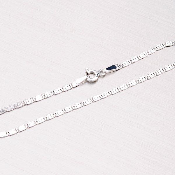 Řetízek ze stříbra s gravírováním SLMCD201-1SD-040-Rh