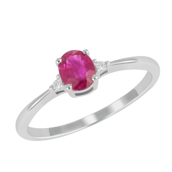 Zlatý prsten s rubínem GKW26160