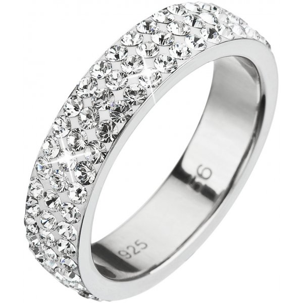 Prsten se Swarovski ELEMENTS 35001.1 KRYSTAL