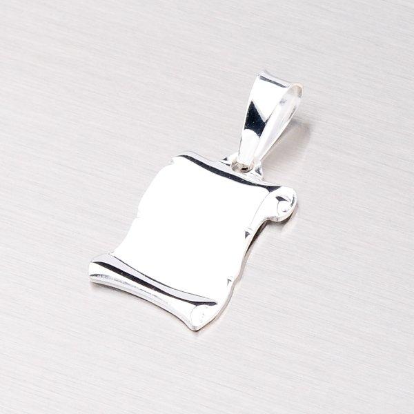 Stříbrná destička YNG3026