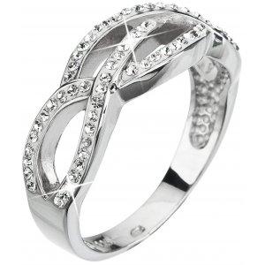 Prsten se Swarovski ELEMENTS 35039.1 KRYSTAL