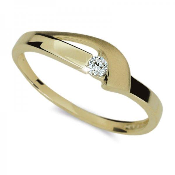 Dámský prsten s diamantem DF1779Z