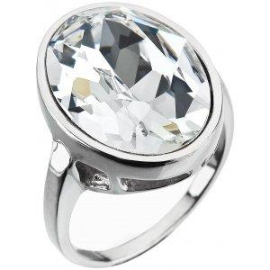 Prsten se Swarovski krystaly 35036.1 KRYSTAL