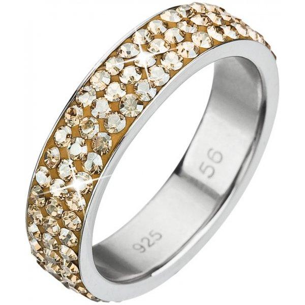 Prsten se Swarovski ELEMENTS 35001.5 GOLD