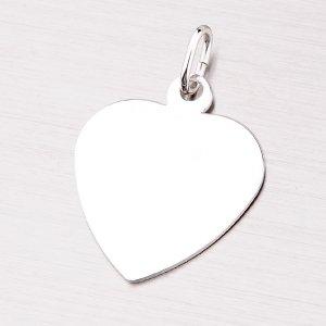Stříbrný přívěsek - srdce MPN5894A