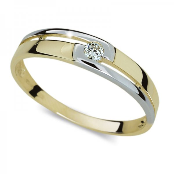 Dámský prsten s diamantem DF1793Z