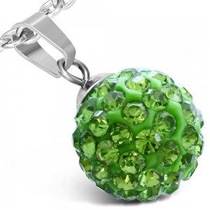 Kulička se zelenými krystalky GWPA157