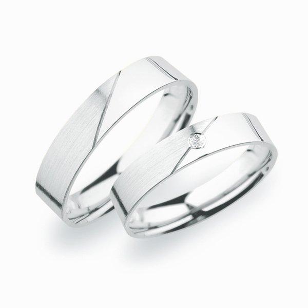 Stříbrné snubní prsteny SP-246-Ag