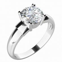 Zásnubní prsten se zirkonem ZP-10757