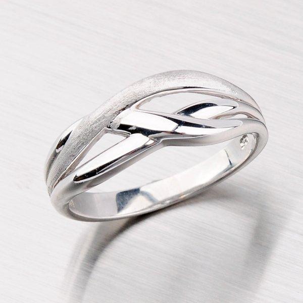 Stříbrný prsten s rhodiováním AR5117-FL-RD