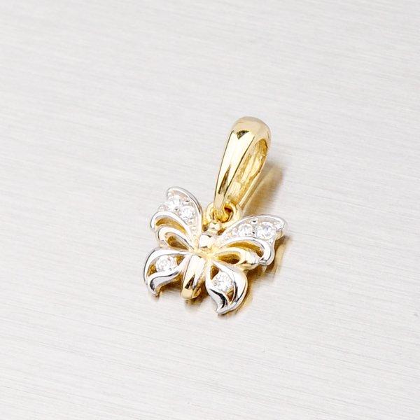 Zlatý přívěsek - motýl 53P-2226ZB