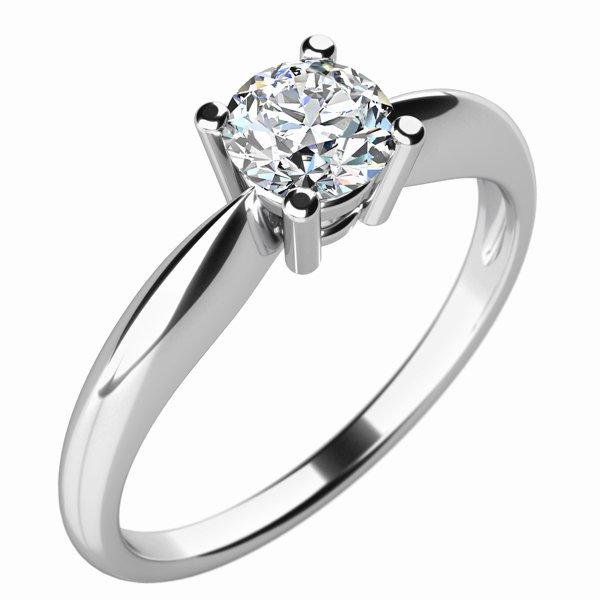 Zásnubní prsten se zirkonem ZP-10702