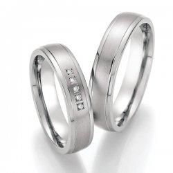 Titanové snubní prsteny SP-20010