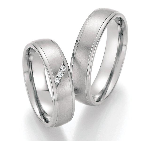 Titanové snubní prsteny SP-20030