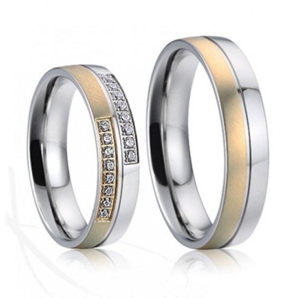 SP-7022 Ocelové snubní prsteny SP-7022
