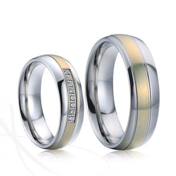 SP-7020 Ocelové snubní prsteny SP-7020
