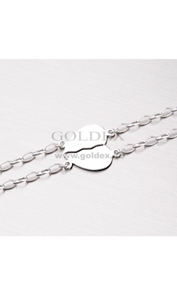 b4b29e7d3 Náramek pro zamilovaný pár MBR5500ARH : Goldex.cz