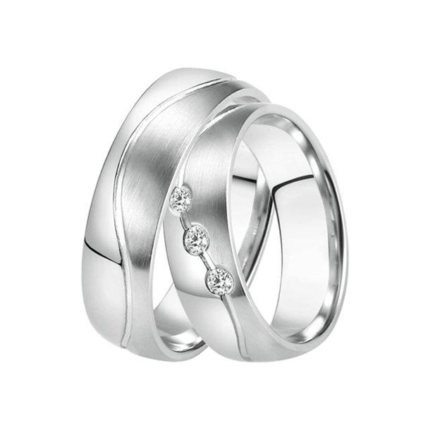 Ocelové snubní prsteny ST-88080
