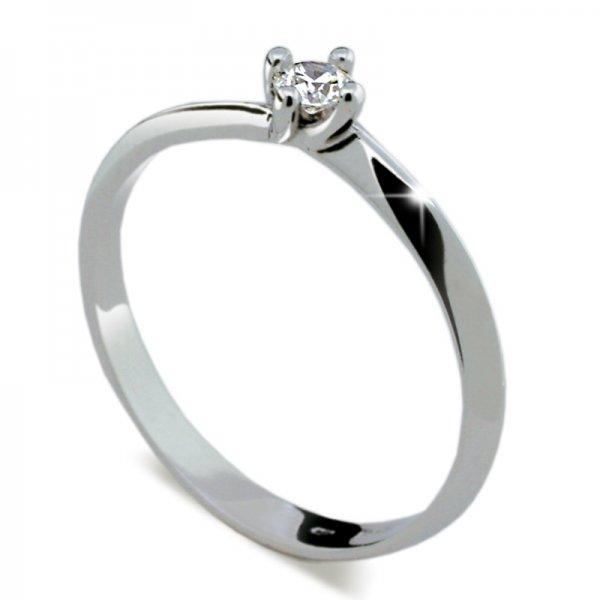 Dámský prsten s diamantem DF1907