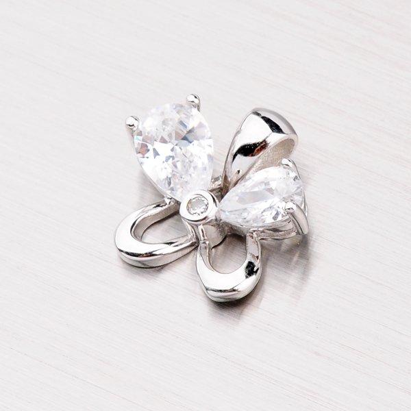 Rhodiovaný stříbrný přívěsek PXX07150128