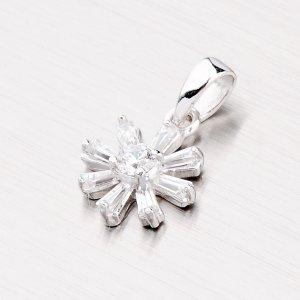 Stříbrný přívěsek - kytička PXX01150114