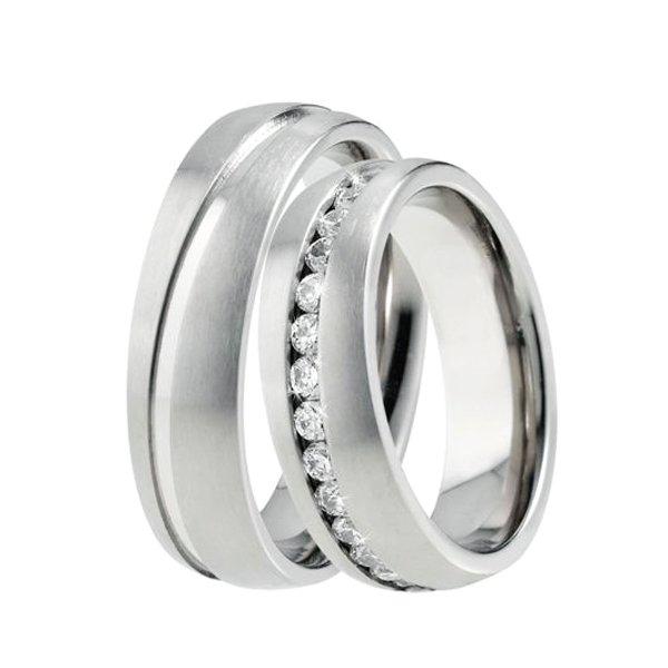 Titanové snubní prsteny TR-88028