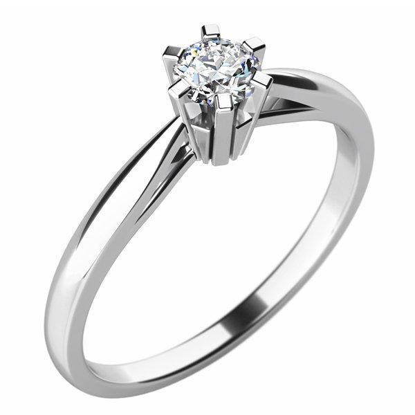 Dámský prsten s diamantem 10769D