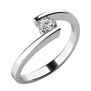 Zásnubní prsten se zirkonem ZP-10762