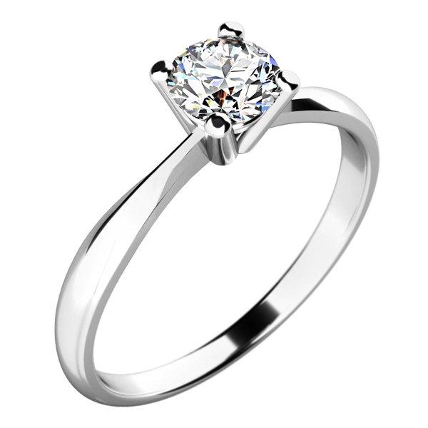 Dámský prsten s diamantem 10770D