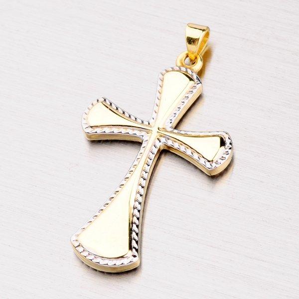 Velký zlatý kříž 142-0633
